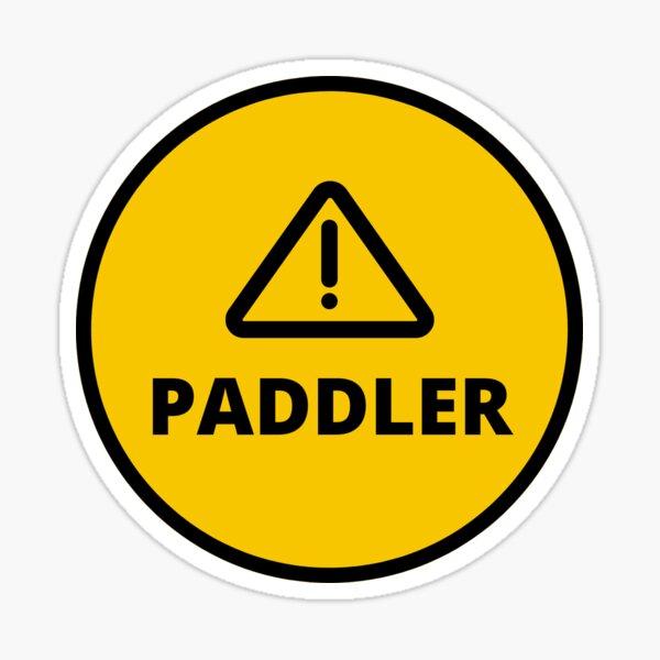 Paddler Danger! Sticker