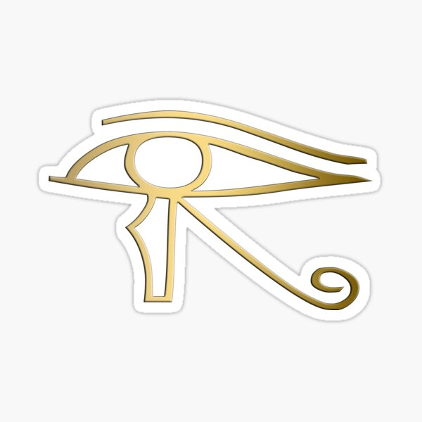 Eye of Horus Egyptian symbol Sticker