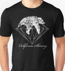 California shining white Unisex T-Shirt