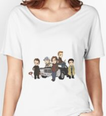 Supernatural Cartoon Design Women's Relaxed Fit T-Shirt
