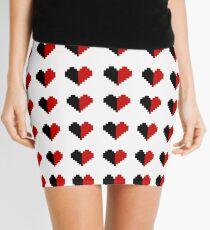 Harley Hearts Mini Skirt