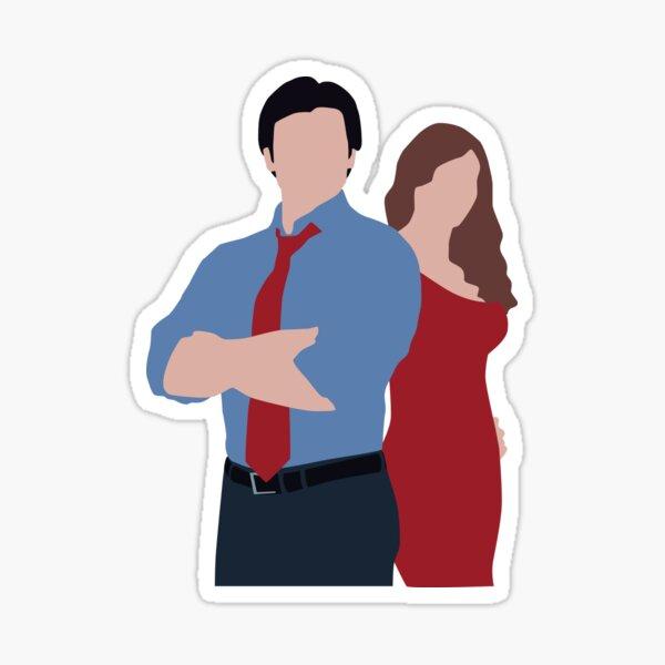 Lois et Clark Smallville Sticker