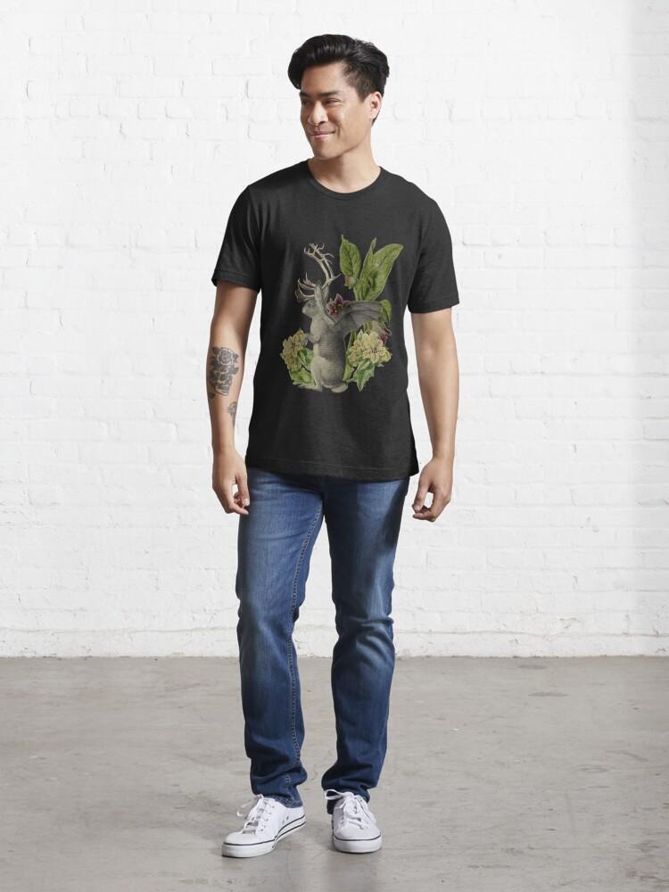 Alternate view of Jackalope Vespertilio  Essential T-Shirt