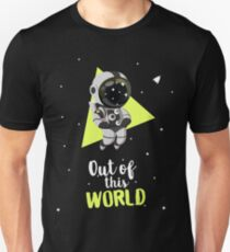Out Of This World Cute Astronaut Unisex T-Shirt