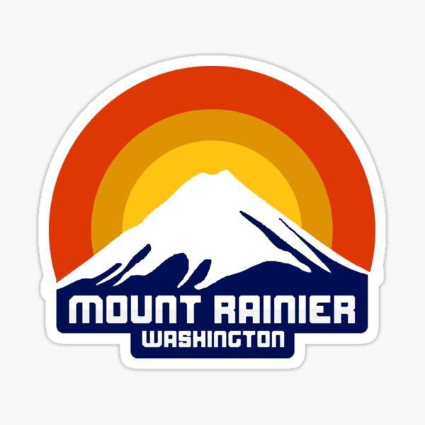 Mount Rainier Sticker