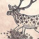 Mandala Caribou by shakusaurus