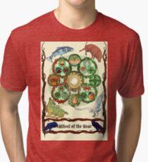 Wheel of the Year Tri-blend T-Shirt