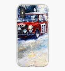 1964 Rallye Monte Carlo Mini Cooper S Hopkirk Liddon winner iPhone Case