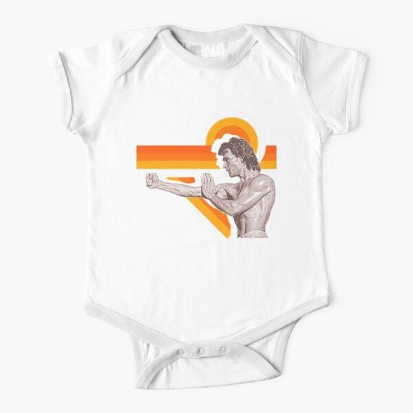 Patrick Swayze Shirtless Hot Bod FanArt Tribute Short Sleeve Baby One-Piece