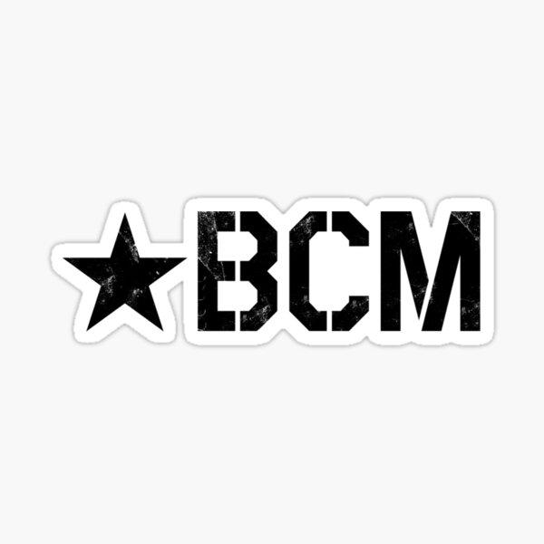 BCM logo Sticker