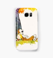 calvin and hobbes Samsung Galaxy Case/Skin