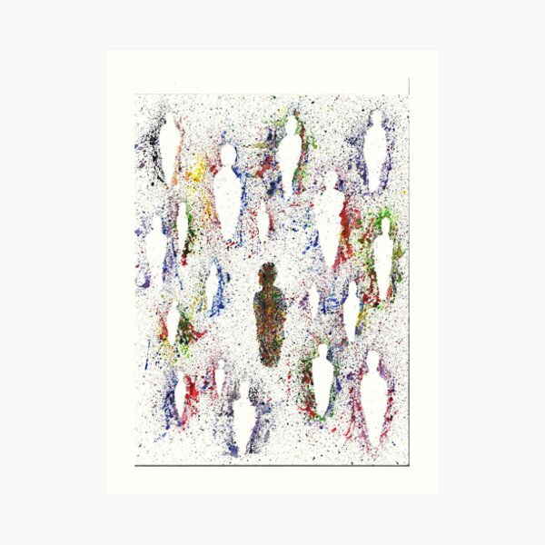 Self and Other Art Print