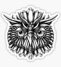 Crystal Owl Sticker