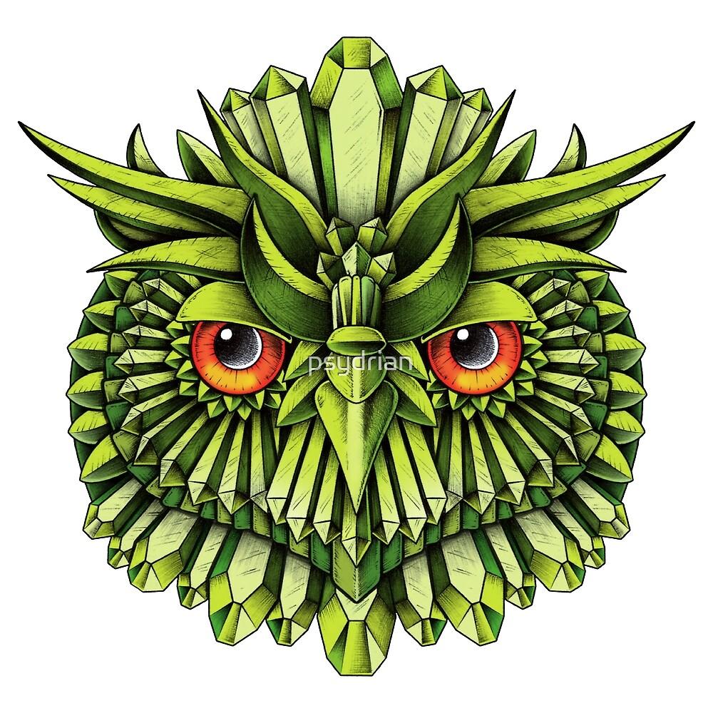 Crystal Owl EDC by psydrian