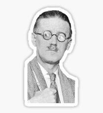 James Joyce Sticker