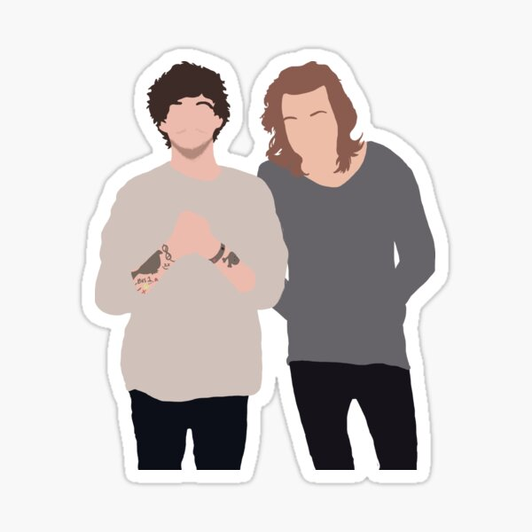 larry stylinson Sticker