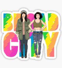 Broad City Abbi and Ilana Sticker