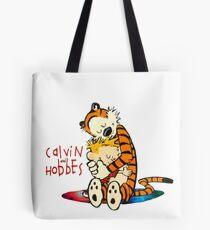 Calvin and Hobbes Big Hugs Nebula  Tote Bag