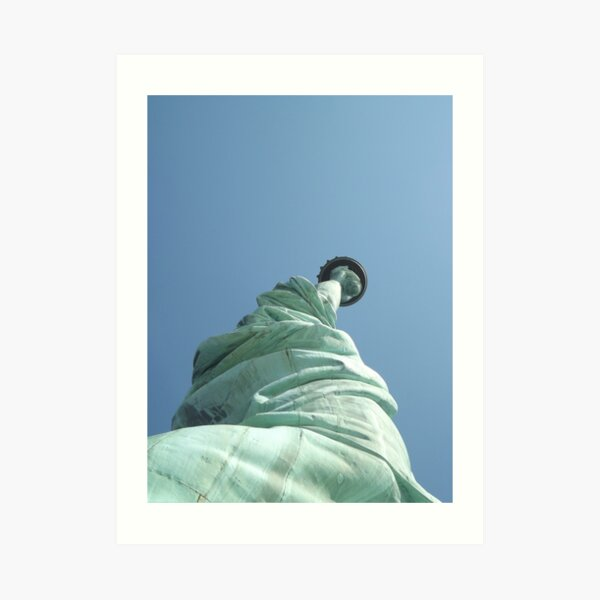 Statue of Liberty Detail, Statue of Liberty, Liberty Island  Art Print