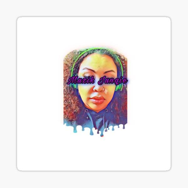 Muzik Junqie Drip Logo  Sticker