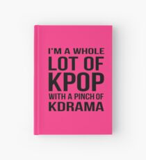 A LOT OF KPOP - PINK Hardcover Journal