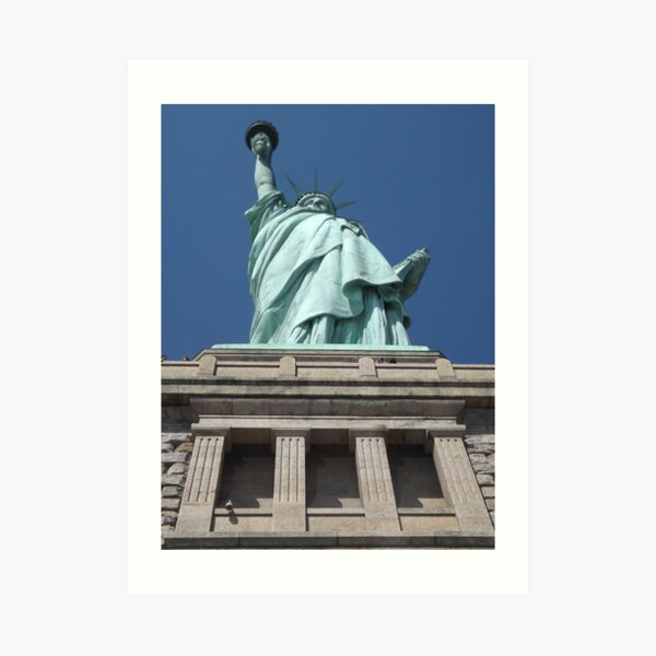 Statue of Liberty, Liberty Island Art Print