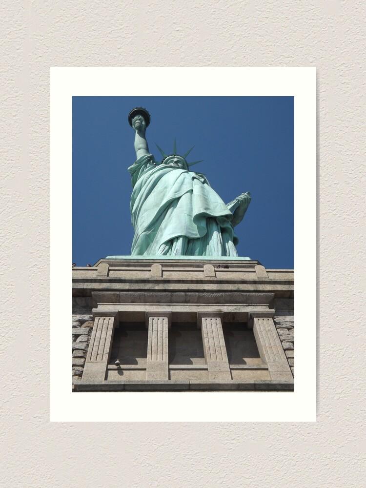Alternate view of Statue of Liberty, Liberty Island Art Print