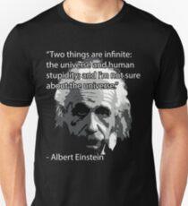 Einstein Quote Tee! Slim Fit T-Shirt