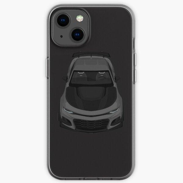 Chevrolet Camaro 1le CAMARO 1LE DARK-GREY iPhone Soft Case