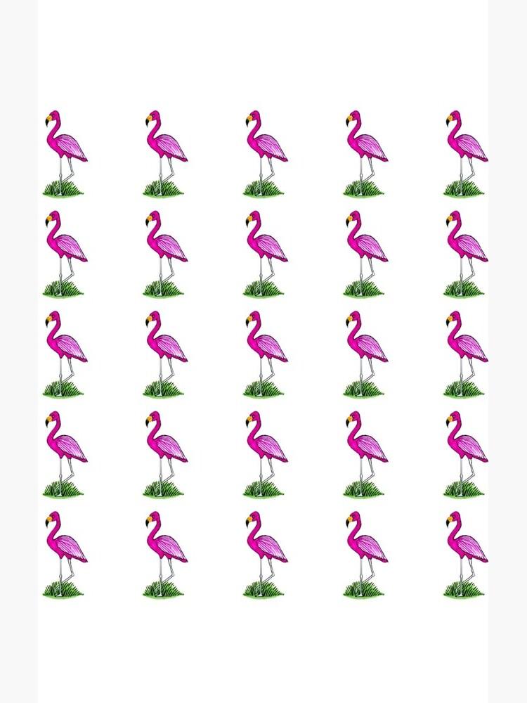 Pink Flamingo by BillNetherlands