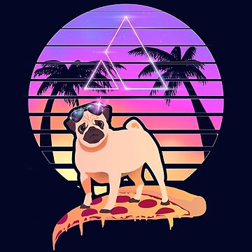 Pizza Pug by spykles