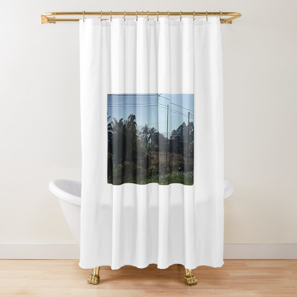 Morning scenery Shower Curtain
