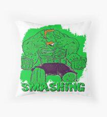 SMASH-ing! Throw Pillow