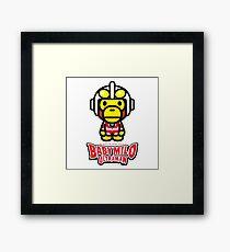 Ultraman Baby Milo Framed Print