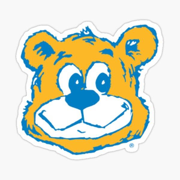 UCLA Cartoon Bruin Bear Sticker