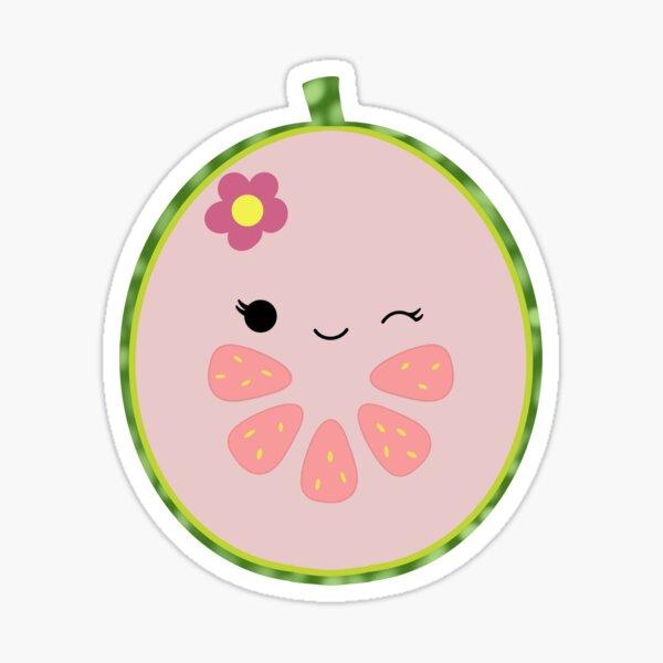 Lena the Guava Sticker
