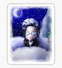 Cold Claude Sticker