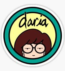 daria logo Sticker