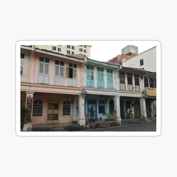 Houses in Penang  Sticker
