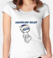 Meownard Snart Tailliertes Rundhals-Shirt