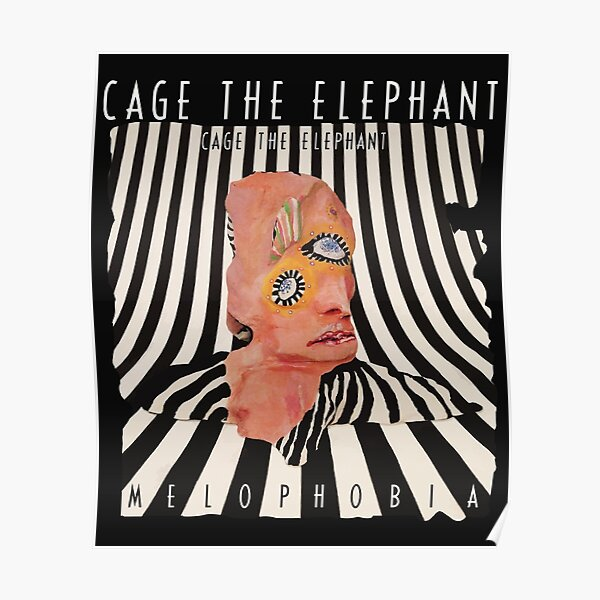 20x20 24x24 Poster Cage the Elephant Albums Cover Social Cues 05 K-737