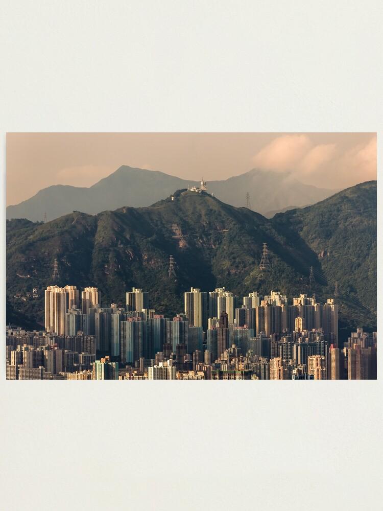 Alternate view of HONG KONG 06 Photographic Print