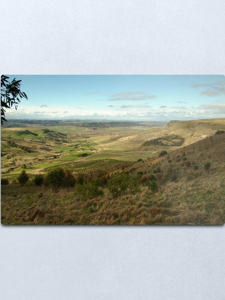 Alternate view of Joe Mortelliti Gallery - Rowsley valley, near Bacchus Marsh, Victoria, Australia.  Metal Print