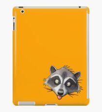 Gray Raccoon GTA iPad Case/Skin