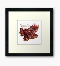 No Facon Bacon! Framed Print