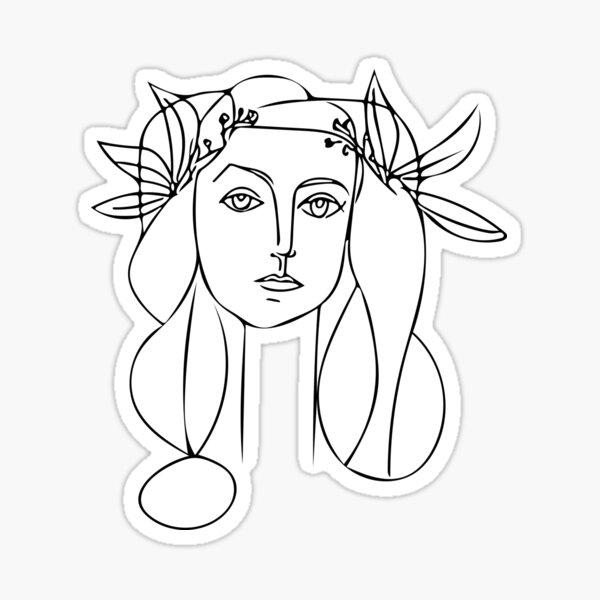 Pablo Picasso Sticker