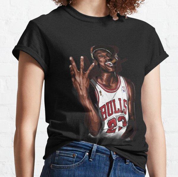 Vintage Michael Jordan Three Peat T-ShirtVintage Michael Jordan Three Peat Classic T-Shirt