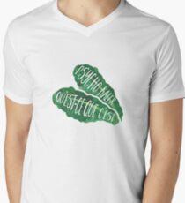 Psycho Kaler Men's V-Neck T-Shirt