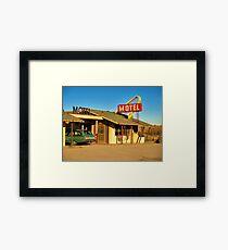 Old Motel Framed Print