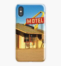 Old Motel iPhone Case/Skin